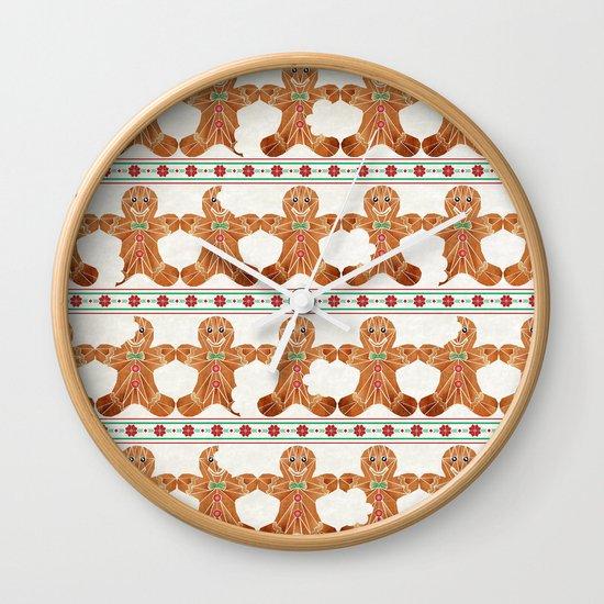 gingerbread man Wall Clock