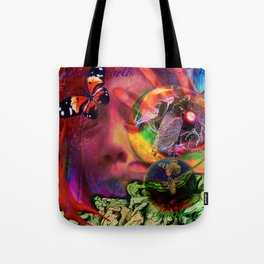 Blue Earth Uprooted Tote Bag