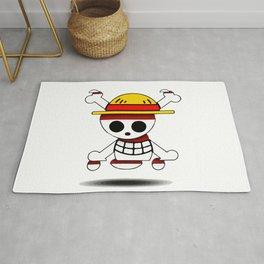 one piece skull simbol Rug
