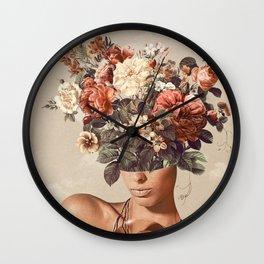 Flower-ism II Wall Clock