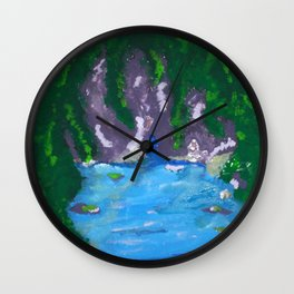 Hidden Spot Wall Clock