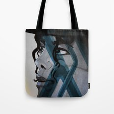 Looking Out Across The Nighttime Tote Bag