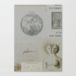 Cosmic Collage Canvas Print