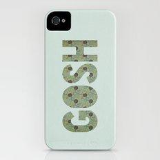 COLLAGE LOVE: GOSH  iPhone (4, 4s) Slim Case