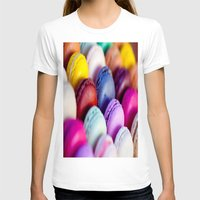 macaroons T-shirts featuring Macaroons by rosita