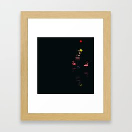 You Are Here, 14 (Fenicotteri) Framed Art Print