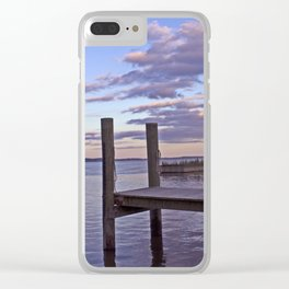 Pier Pink Clear iPhone Case