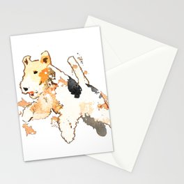 Fox Terrier Stationery Cards