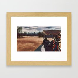 Quick Game of Golf Framed Art Print