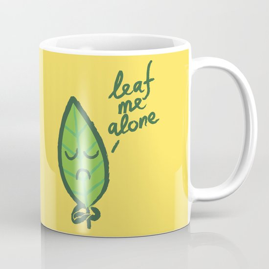 The introvert leaf Mug