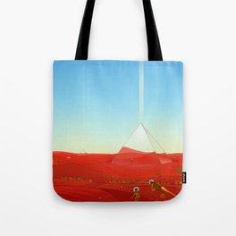 Mirror Pyramids Tote Bag