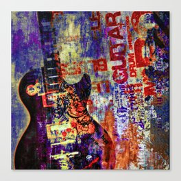 Electric Rock and Roll Canvas Print