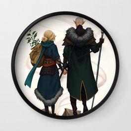 Dear fellow traveller Wall Clock