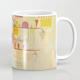 Wassily Kandinsky Graceful Ascent Painting Coffee Mug
