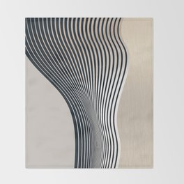 Abstract 19 Throw Blanket