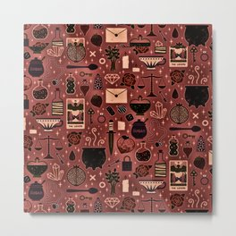 Portion Magic Harry Styl Gift Pattern Metal Print
