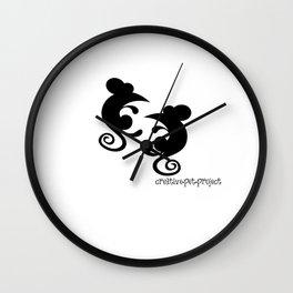 Mice Wall Clock