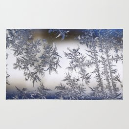 Frost Covered Glass Rug