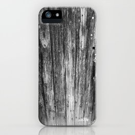 OLD CABIN DOOR iPhone Case