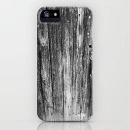 OLD CABIN DOOR iPhone Case