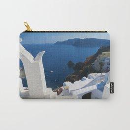 Oia Santorini c Carry-All Pouch