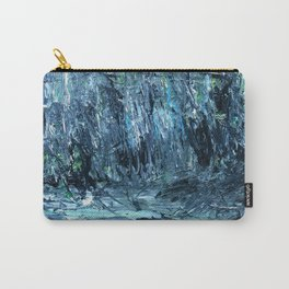 A Clearing Through The Swamp Acrylics On Stretched Canvas  Carry-All Pouch