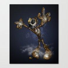 ZOMBIE C3PO Canvas Print