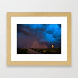 Dakota Storm Framed Art Print