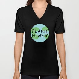 Plant Power Unisex V-Neck