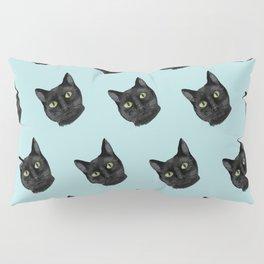 Black Cat Appreciation Day Pillow Sham