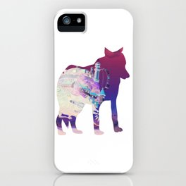 Dog Silhouette iPhone Case