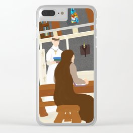 Urban II at Cluny Clear iPhone Case
