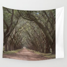 Lousania oaks at Plantation Wall Tapestry