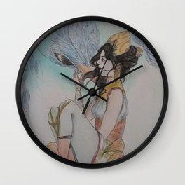 The bird breeder - L'oiselière Wall Clock
