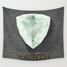 Trilliant Wall Tapestry