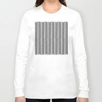 herringbone Long Sleeve T-shirts featuring Herringbone Stripe by Project M