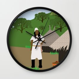 Indian tribe Kogi of Colombia  Wall Clock