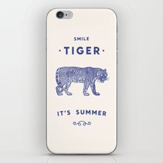 Smile Tiger, it's Summer iPhone Skin