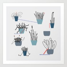 TIME TO PLANT Art Print