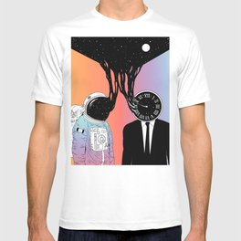 A Portrait of Space and Time ( A Study of Existence) T-shirt