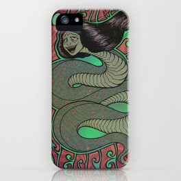 Flying She Serpent iPhone Case