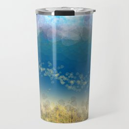 Abstract Seascape 02 wc Travel Mug