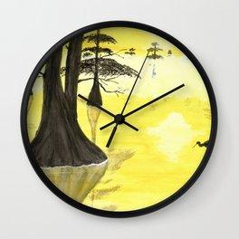 Cypress Sunrise Wall Clock