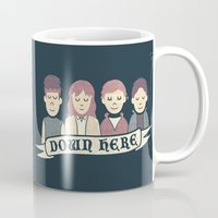 the goonies Mugs featuring Down Here by Teo Zirinis