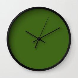 Tropical Jungle Green Wall Clock