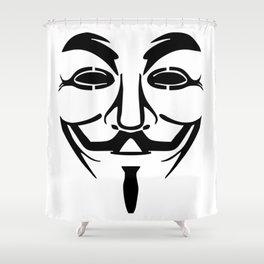 Anonymous Vendetta Shower Curtain