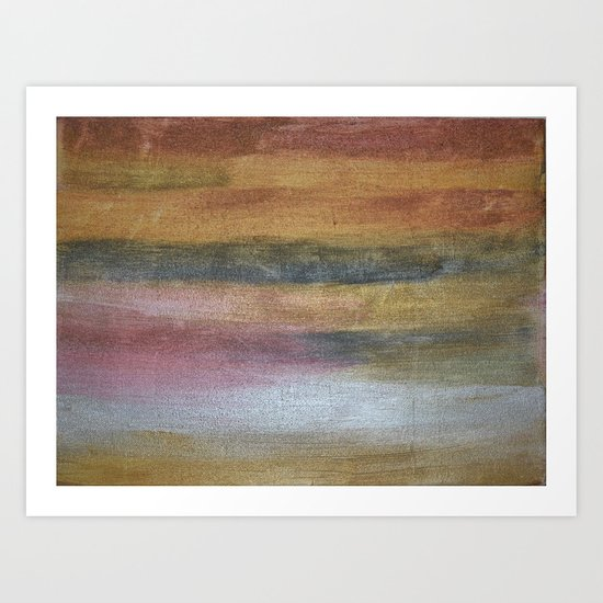 Color plate - rusty Art Print