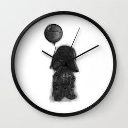 darth vader & death star! Wall Clock