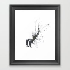 Still Mourning Framed Art Print