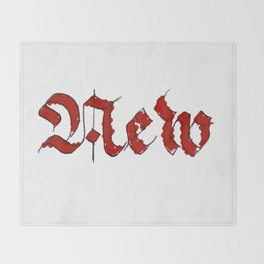 New Throw Blanket